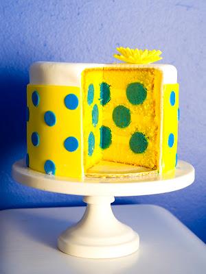 sweet cakes by rebecca - polka dot cake