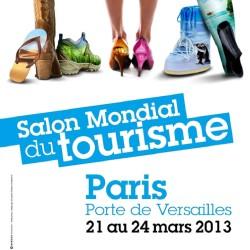 affiche du salon mondial du tourisme 2013