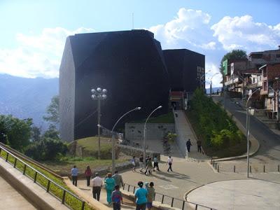 Biblioteca España-Medellín-Colombia-Maravillas