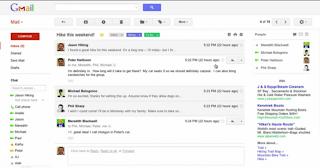 tampilan baru gmail