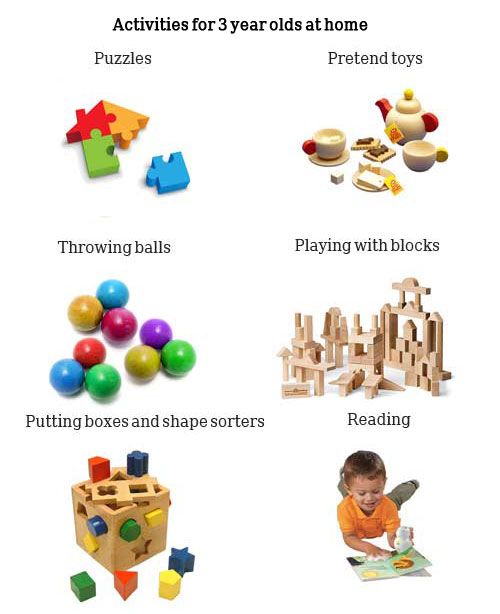 Activities Home 2 Year Olds Activities For 3 Year Olds at