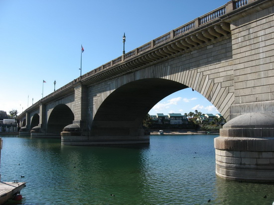 London Bridge Over Lake Havasu
