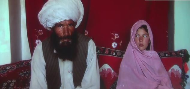 11 year old girl marries a 40 year old man