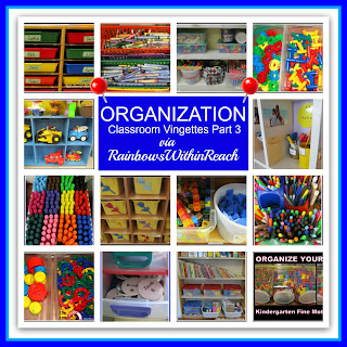 photo of: Classroom Organization Vignettes (RoundUP via RainbowsWIthinReach)