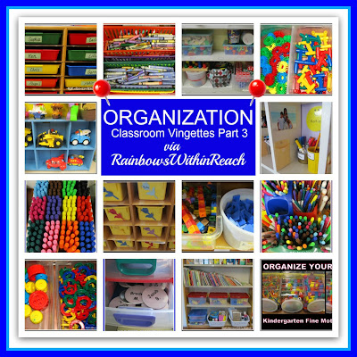 photo of: Classroom Organization Vignettes (RoundUP via RainbowsWIthinReach)