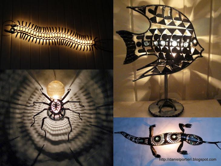 Esculturas Iluminadas