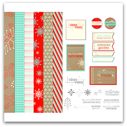 Stampin' Up! Homestyle Goodies Designer Template - Digital Download
