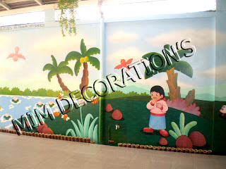 Mim decoration s for Mural untuk kanak kanak