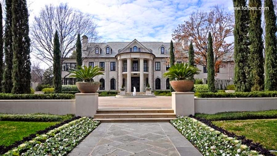 Large mansion neo-classical style in Texas, United States - 1927