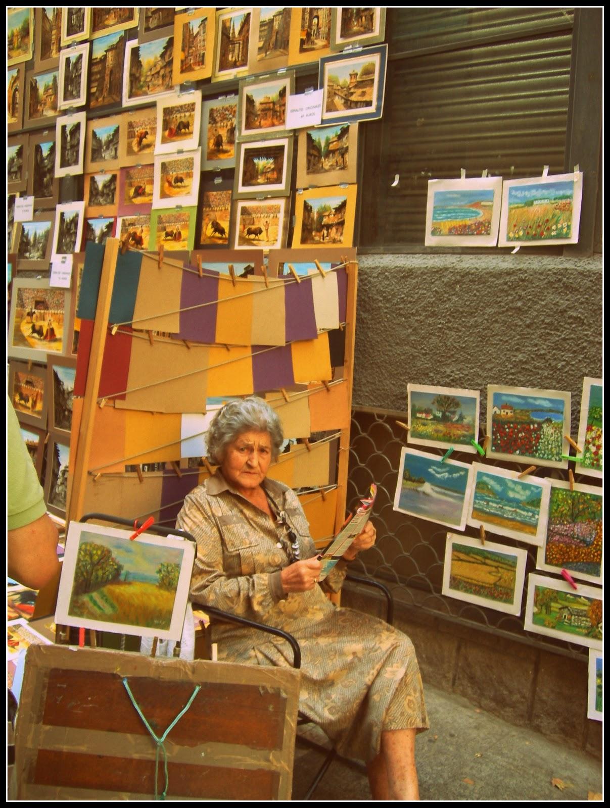 Los mundos de lulu rastro de madrid y mercado de san miguel - Muebles campillo madrid ...