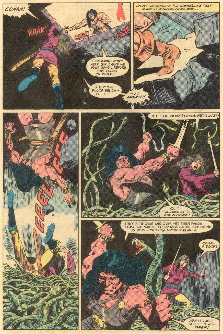 Conan the Barbarian (1970) Issue #138 #150 - English 17
