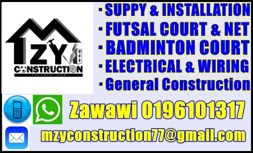 Construction Futsal & Badminton Court