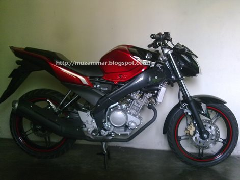 Bentuk New Yamaha Vixion Lightning tanpa shroud