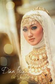 jilbab pengantin muslimah