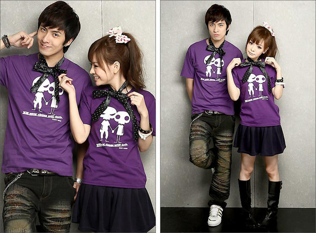 the gallery for gt couple shirts korean fashion