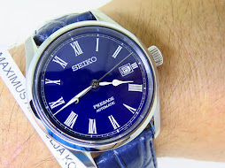 SEIKO PRESAGE SPB069J1 BLUE ENAMELLED DIAL - AUTOMATIC 6R15D - LIMITED EDITION 0164 / 1500