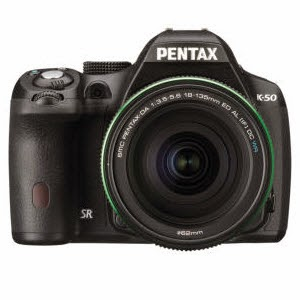 Amazon : Buy Pentax K-50 with 18-55mm F3.5-5.6AL WR KIT Rs.35,838