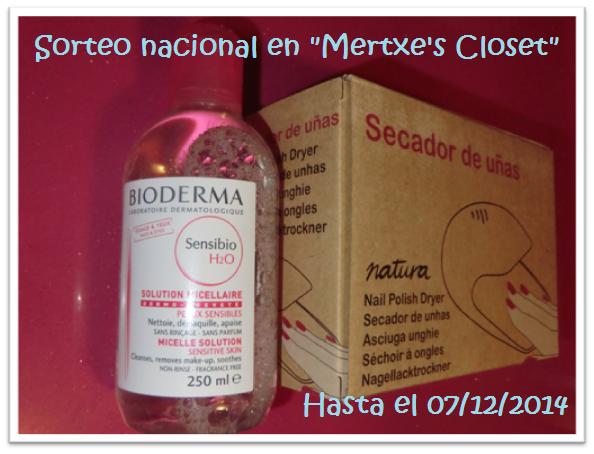 """Sorteo nacional en """"Mertxe´s Closet"""""""