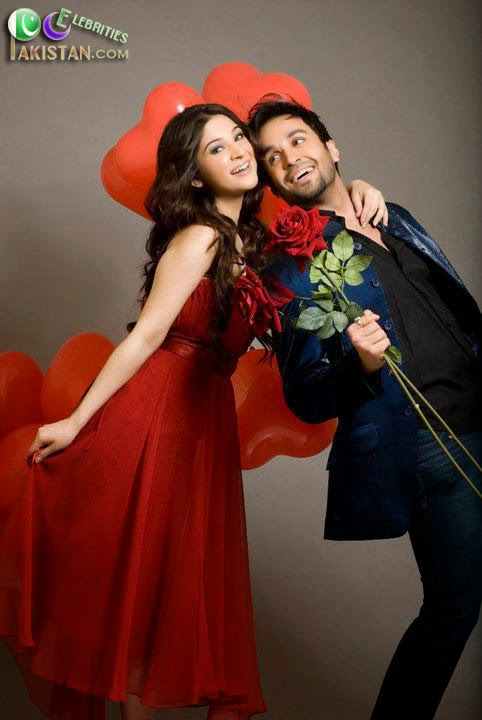 Ayesha Omer and Azfar Rehman Valentines Day Photoshoot
