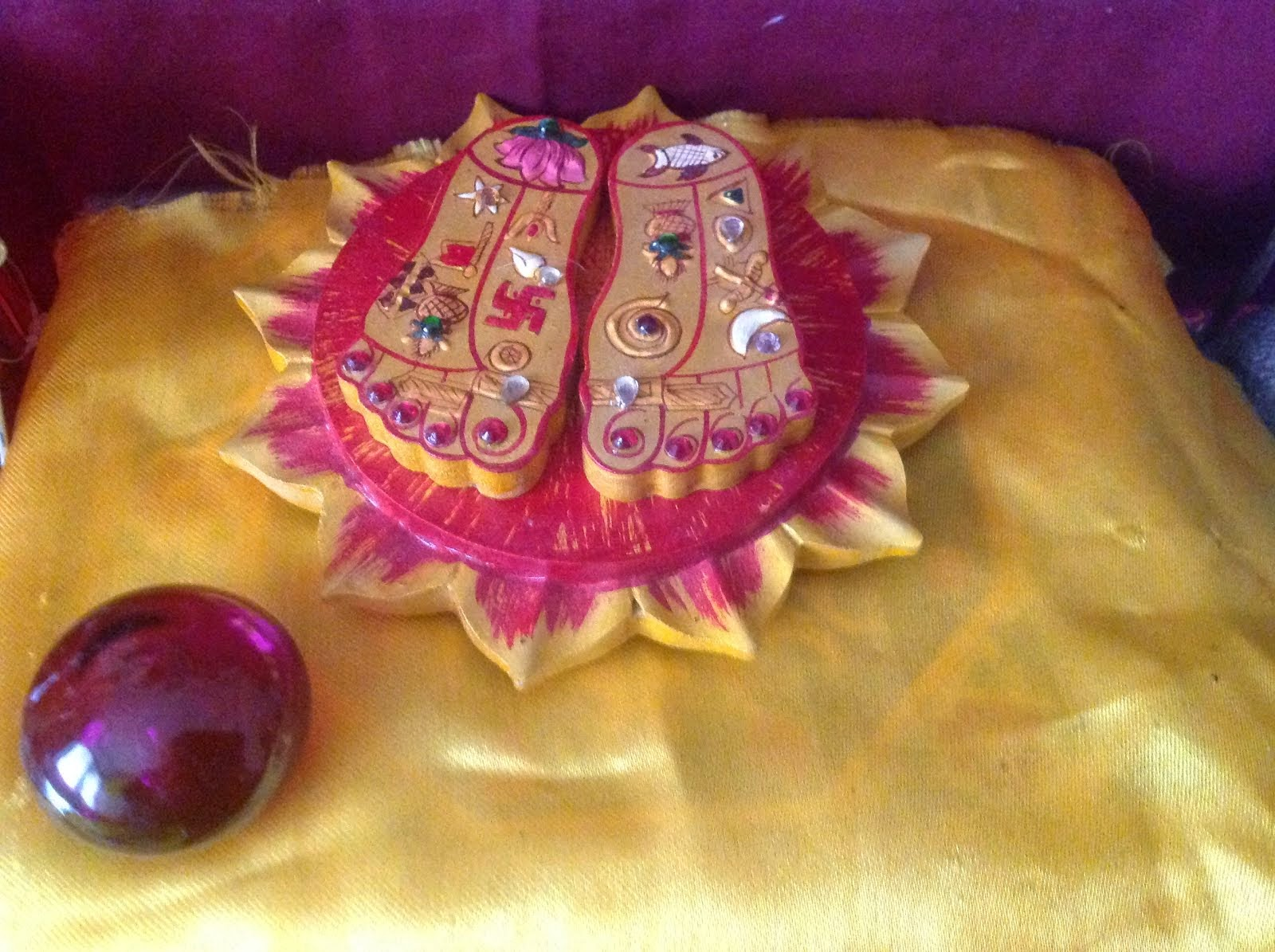 The Feet of the Devi