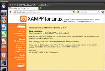 how to use xcloner and xampp