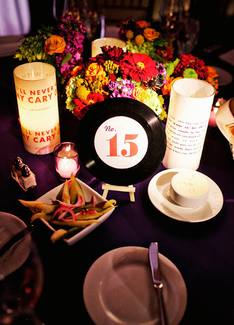 mad men party tablescape