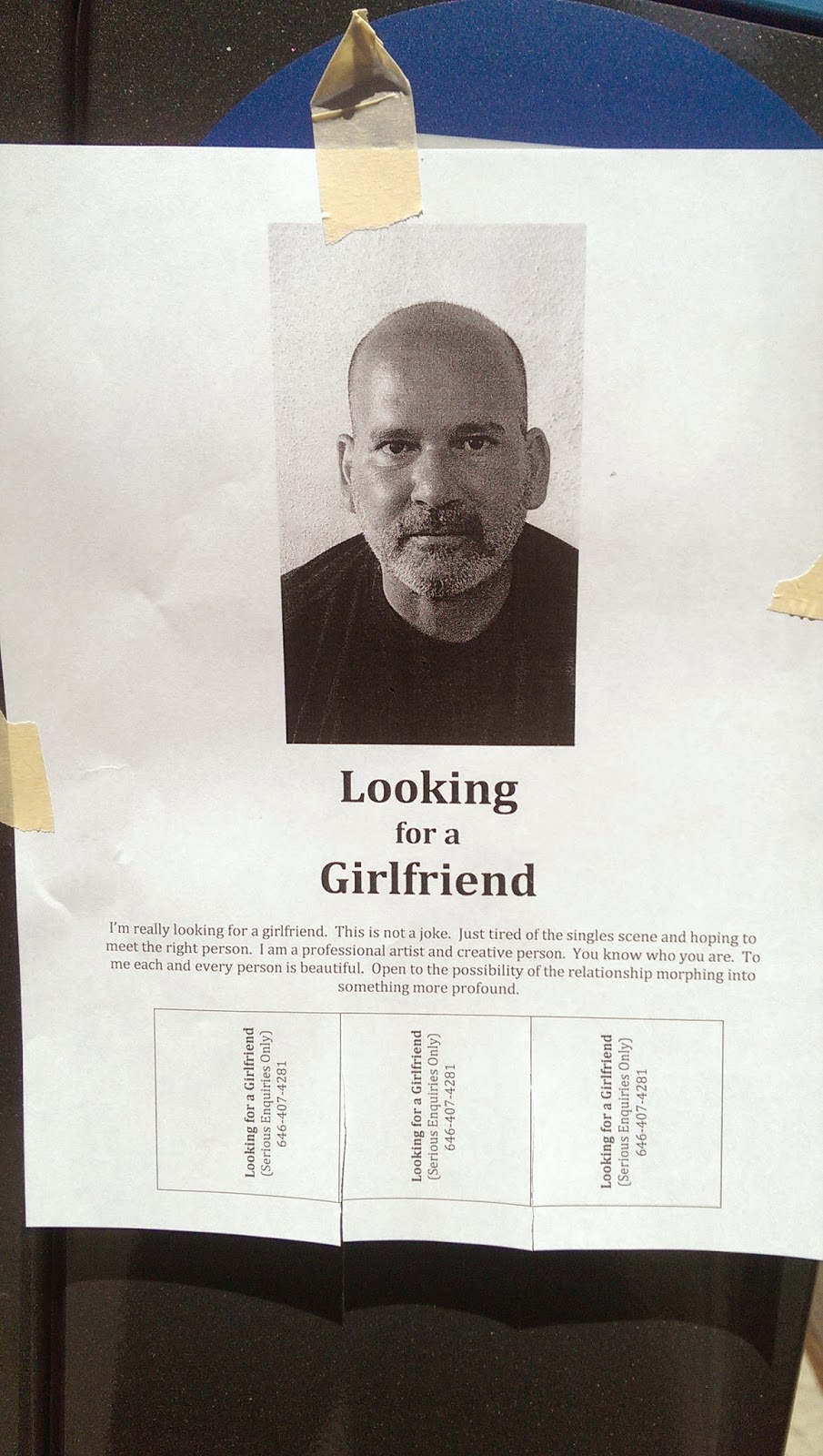 Guy looking for girlfriend in Chelsea