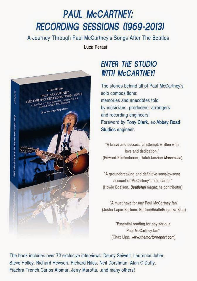 """PAUL MCCARTNEY RECORDING SESSIONS 1969-2013"" IN USA, HERE!"