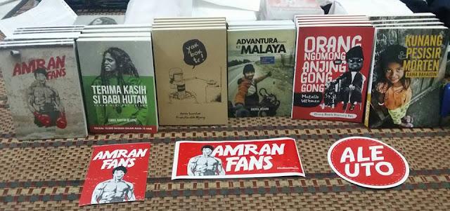 Jualan buku Amran Fans kini dibuka