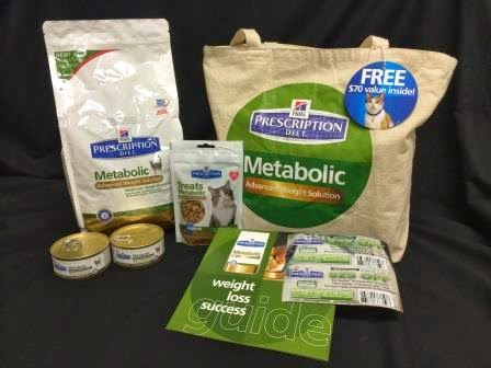 Metabolic Weight Solution Prize Package, #HillsPet, #spon
