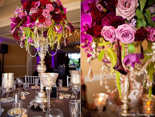 Wedding Flowers Candelabra Centerpiece Wedding Flowers