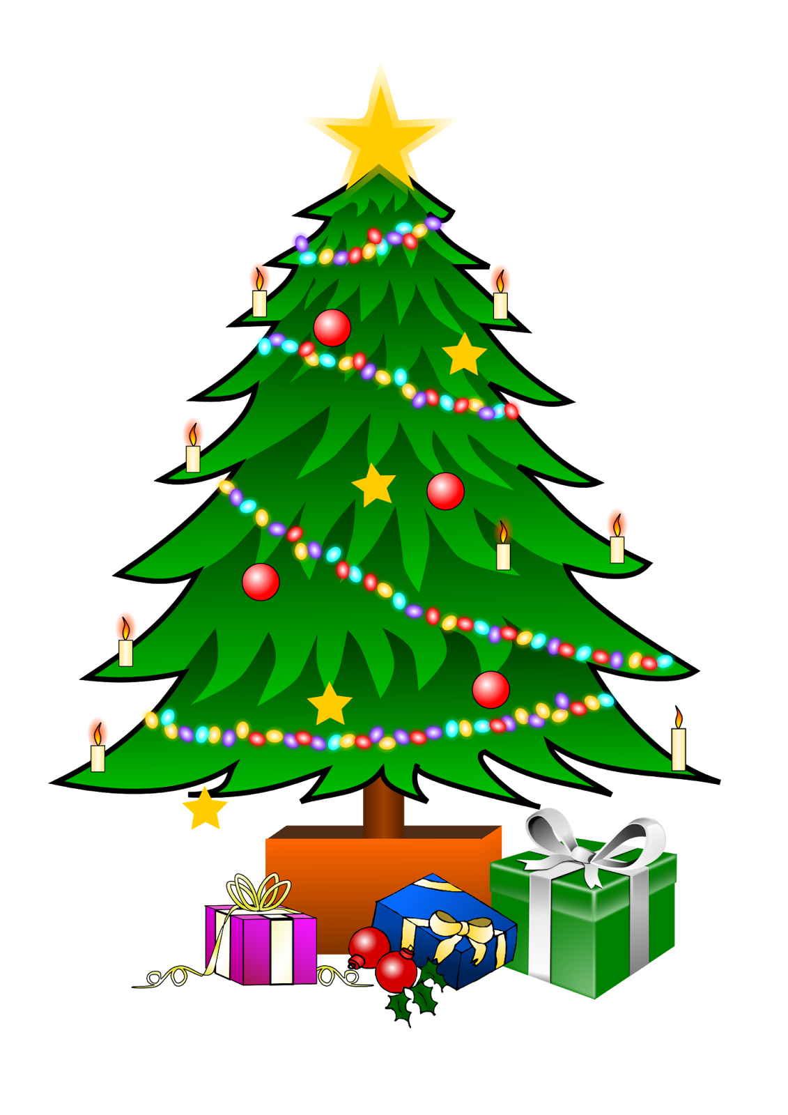 xmas tree pictures for kids - photo #3
