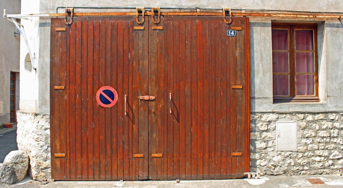 Old Garage Doors : Wcs old wooden doors