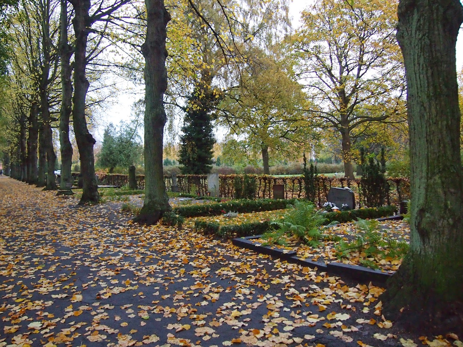 graveyard for St. Paul's Church in Malmo
