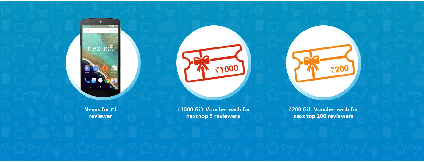 Win gift voucher at snapdeal