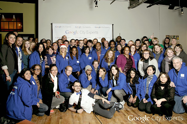 Google City Experts and Experts In Training