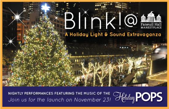 When Is The Boston Christmas Tree Lighting? Blink! Boston Holiday  - Boston Christmas Tree Lighting