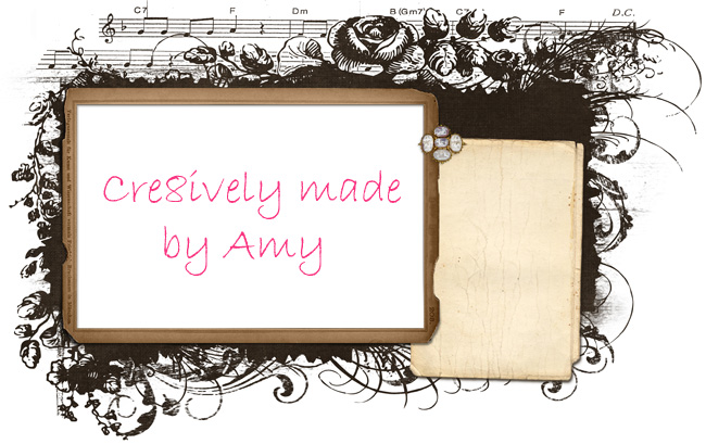 Cre8ively made by Amy