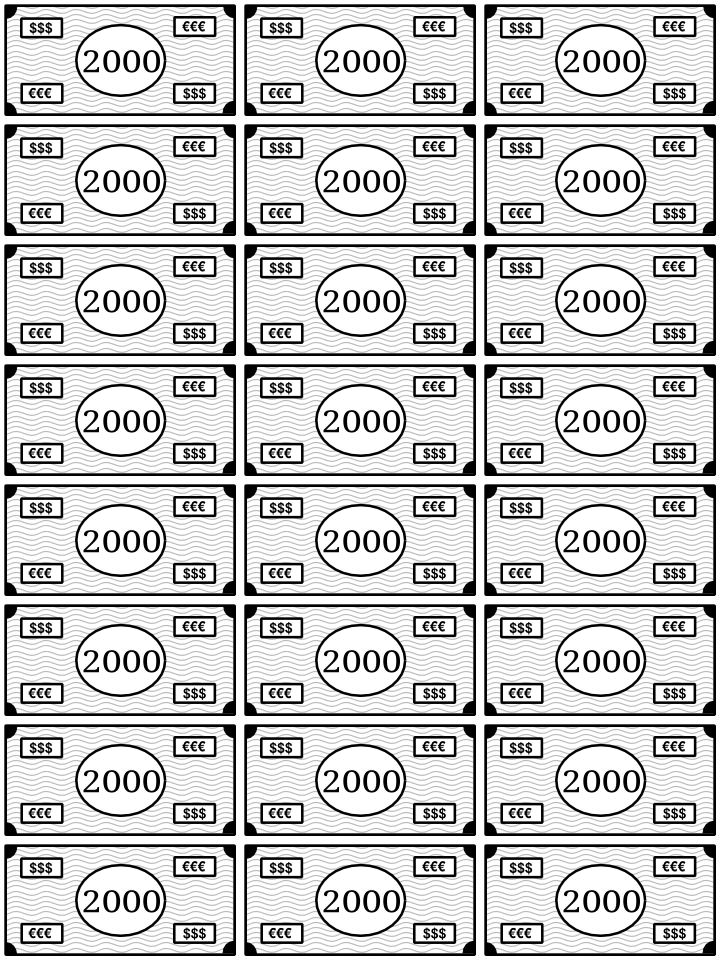 2000_billetes para imprimir y jugar como monopoly