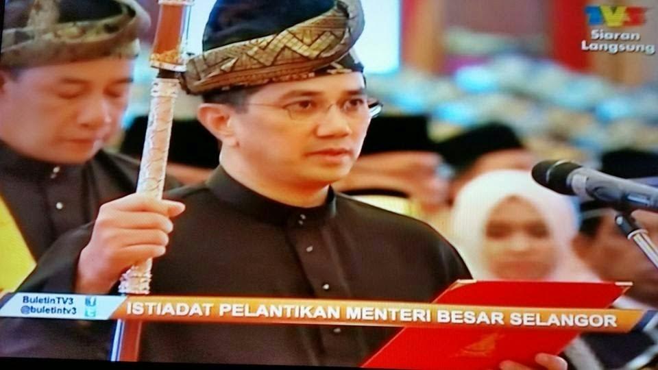 Biodata Dan Gambar Pelantikan Azmin Menteri Besar Selangor
