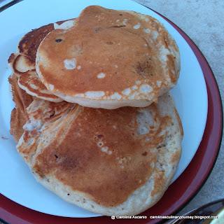Oriana's Chocolate Chips Pancakes