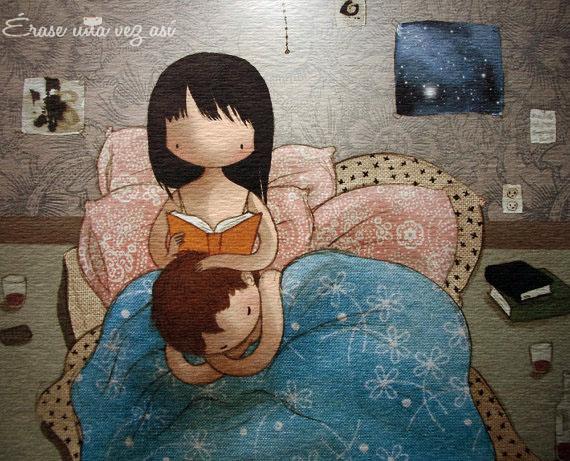 Noctámbulos, noctambula, me gusta leer, ella era soñadora, lectores soñadores