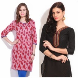 Flipkart : Buy Women's Kurta at Flat 65 % off  – Women's Day Special