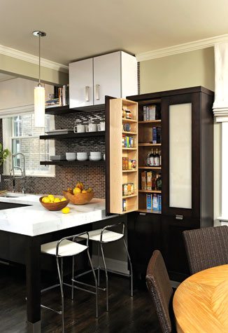 Interior design gives a mundane kitchen a new lease on life