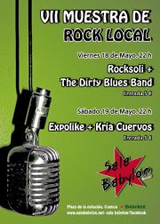 VII Muestra de Rock Local (Cartel)