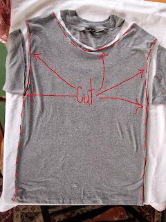 Reciclatex Cómo convertir una camiseta en un elegante chaleco