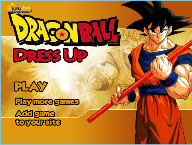 Dragon Ball Dress Up Games 2