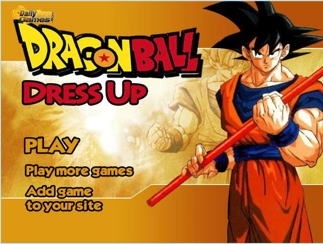Dragon Ball Dress Up Games 2