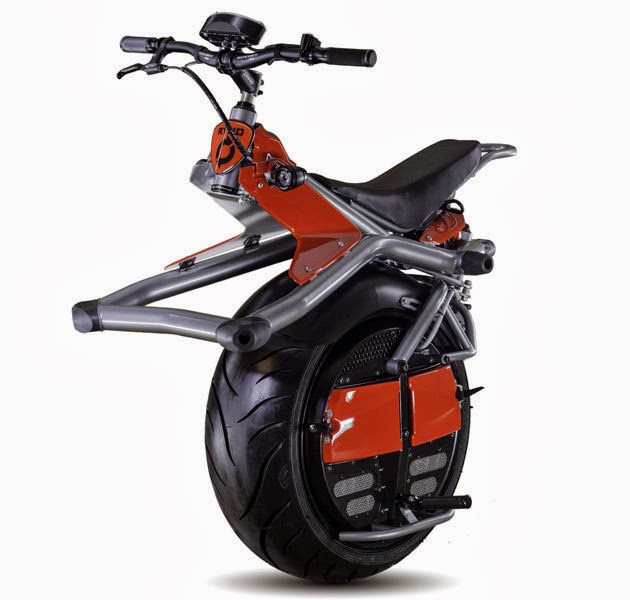 RYNO :One-wheeler,self-balancing electric motorcycle
