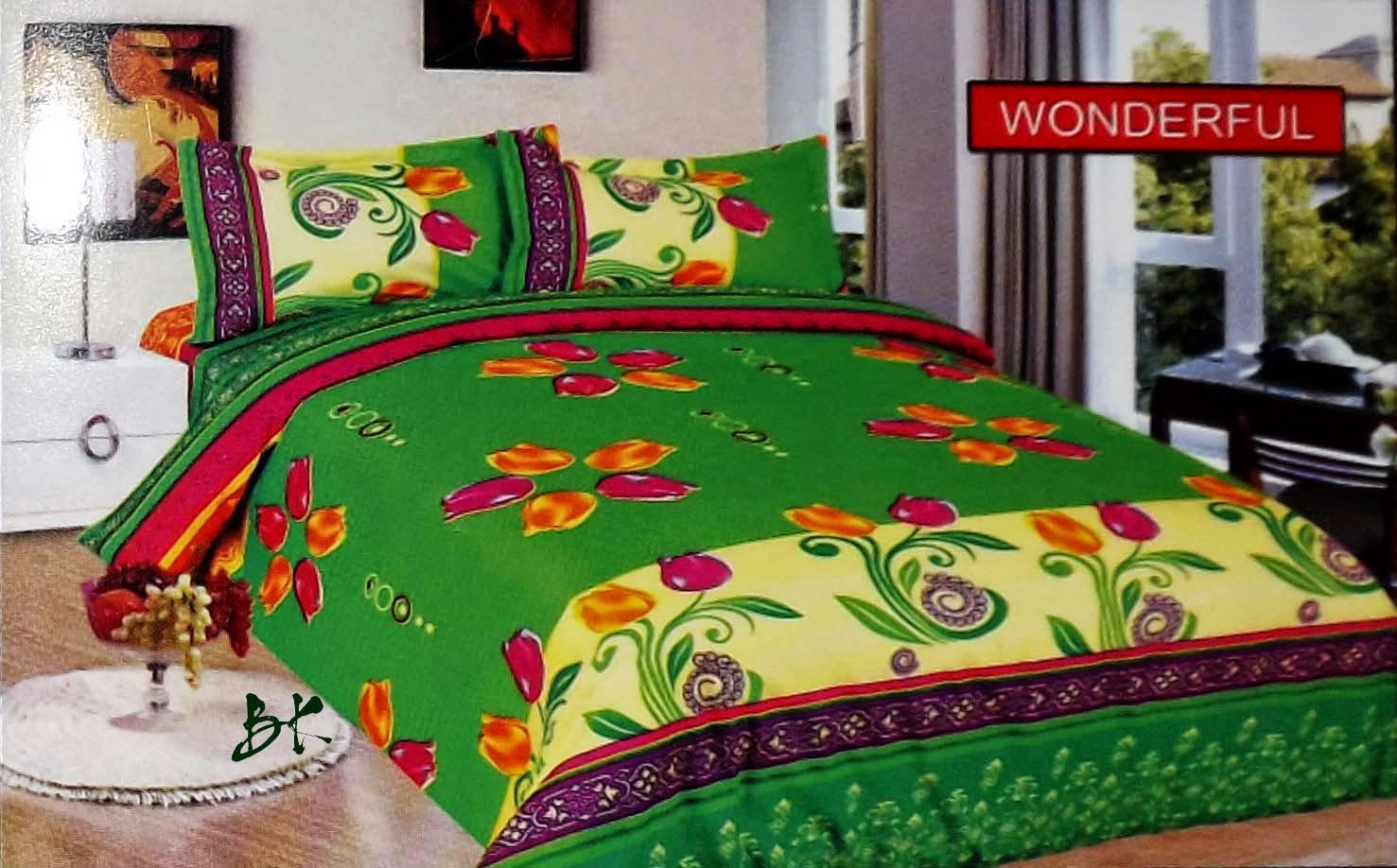 Sprei Bed Cover Bonita Wonderful